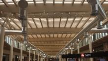 Centro commerciale di Arese: le grandi strutture prefabbricate in legno