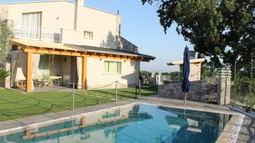 Legno cemento per il complesso residenziale Le Querce a Frascati (Roma)