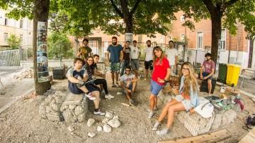 A L'Aquila autocostruzione 'partecipata' per ridare vita agli spazi urbani