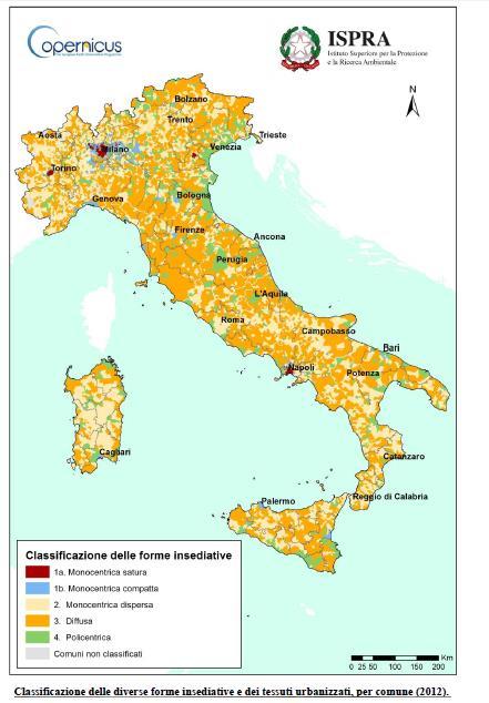 Cartina classificazione