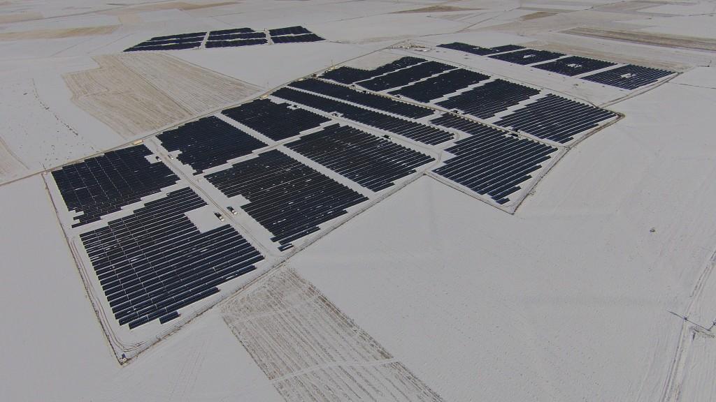 L'impianto fotovoltaico inaugurato a Konya Kızören in Turchia
