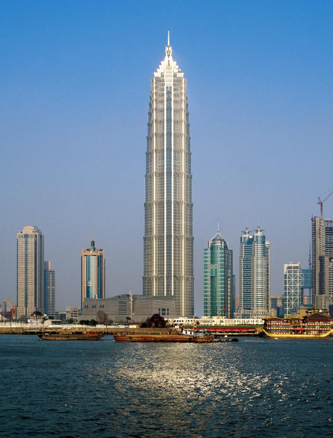 Jin Mao Tower © Nick Merrick - Hedrich Blessing