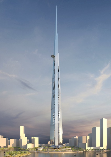 Kingdom Tower © Jeddah Economic Company-AS+GG Architecture