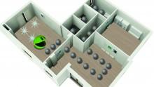 L'idropittura per interni anti-inquinamento è Pothos 003 di Fassa Bortolo