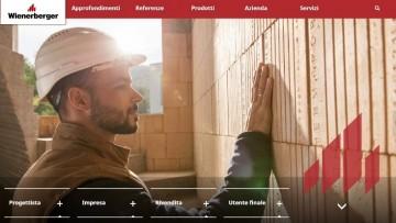 Il nuovo sito di Wienerberger Italia è online