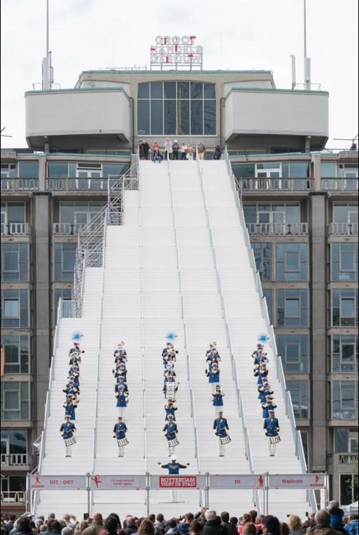 Inaugurazione di The Stairs to Kriterion (Frank van Dam Fotografie)