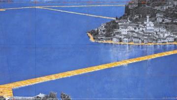 Come sarà realizzata la passerella sul Lago d'Iseo di Christo