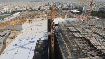 Renzo Piano per la Fondazione Stavros Niarchos ad Atene: immagini dal cantiere