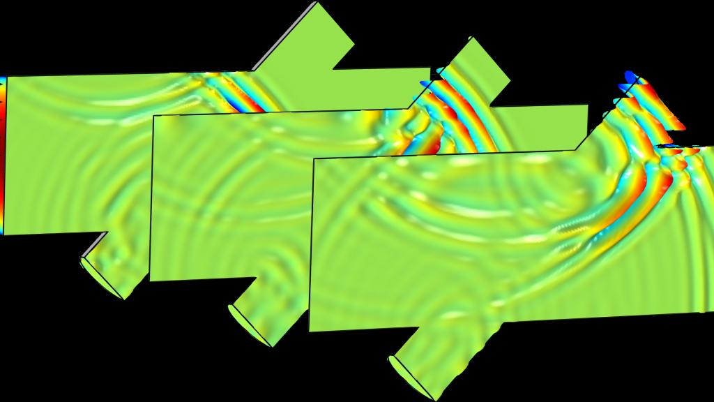 Simulazione numerica con COMSOL® di un flussimetro a ultrasuoni intrusivo