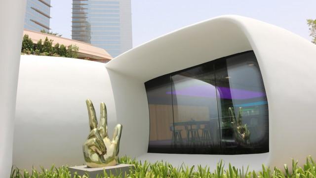 Office of the Future: il primo edificio per uffici al mondo stampato in 3D