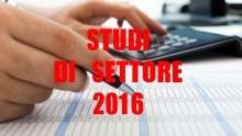 Tutto sugli Studi di settore 2016 per i professionisti