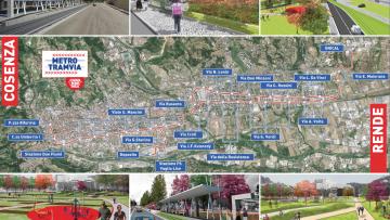 La metro leggera Cosenza – Rende sarà realizzata da Cmc Ravenna