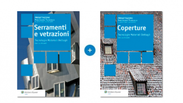 Coperture, serramenti e vetrazioni: i due volumi super scontati