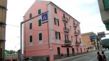 Isolamento termico a cappotto e conservazione della facciata di un edificio storico in Liguria