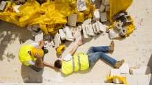 Infortuni sul lavoro, casi mortali in calo: i dati della Relazione Inail 2017