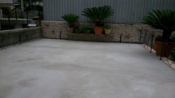 Impermeabilizzazioni: l'intervento con prodotti Torggler sulla copertura di un garage divenuta terrazzo