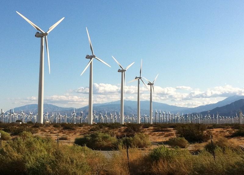 Power Generating Windmill Farm