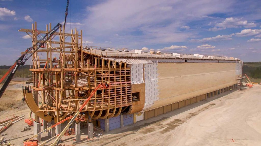 Arca di Noè - costruzione - courtesy of Ark Encounter