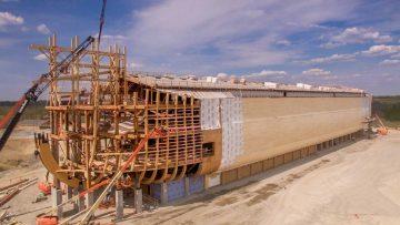 La nuova Arca di Noè in legno costruita negli Stati Uniti