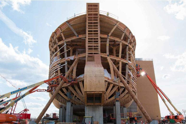 Arca di Noè - costruzione - courtesy of Ark Encounter (14)
