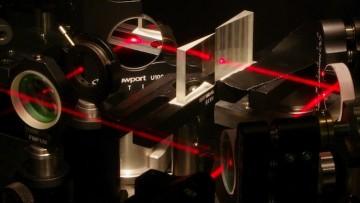 Un interferometro portatile da usare direttamente 'sul campo'