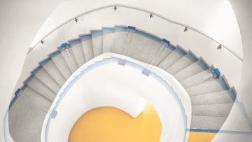 L'isolamento acustico con Schöck Tronsole® elimina i rumori da calpestio nel vano scale