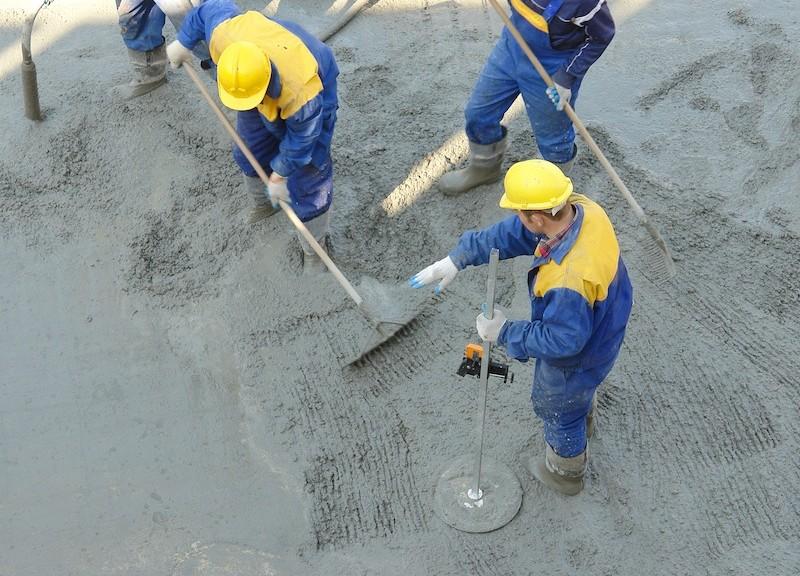 Concrete mix leveling