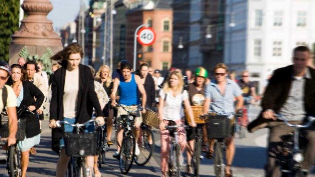 Ciclisti a Copenhagen