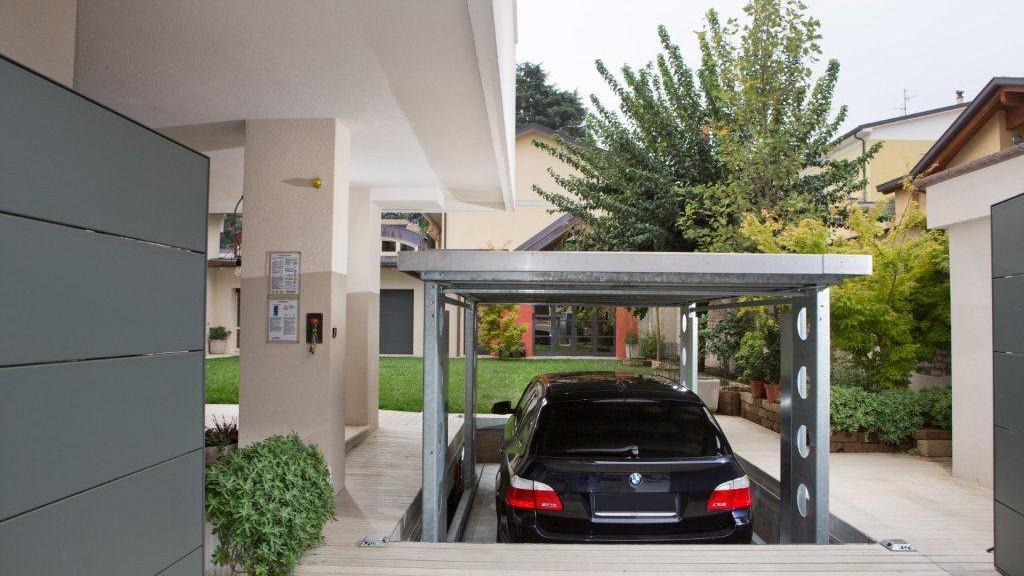 Ascensori per auto a scomparsa un progetto residenziale a for 10 piani di garage per auto