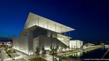 Apre il Centro Culturale Stavros Niarchos di Renzo Piano, con la copertura in ferrocemento dei record
