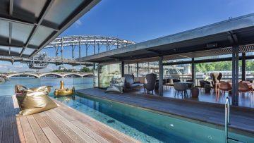 OFF Paris Seine è il primo albergo galleggiante di Parigi