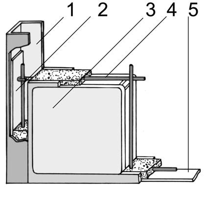 Franco 7_FIG 1 b_Composizione di una lastra in vetrocemento (Disegno M. Caraffini)