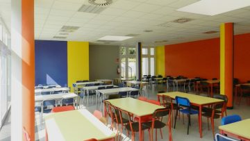 L'ampliamento della scuola di Noviglio, ispirato a Piet Mondrian