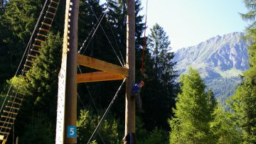 Sky Tower è la torre in legno ad uso sportivo più alta d'Italia