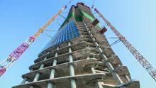 Torre Generali di Zaha Hadid per CityLife a Milano: casseforme e impalcature