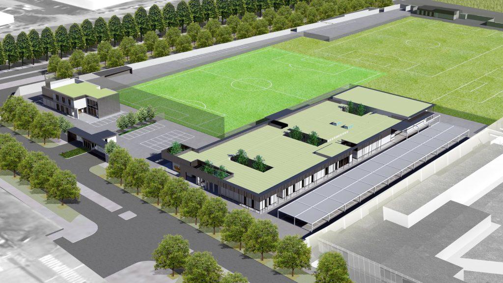 Il progetto della Cittadella della Juventus
