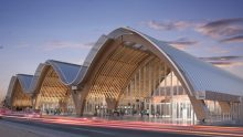 Un aeroporto in legno lamellare: la sfida delle Filippine