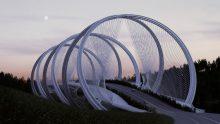 Come sarà il ponte olimpico di Pechino 2022 progettato da Arup e Penda