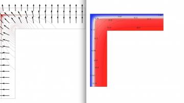 Calcolare i ponti termici nell'angolo tra due pareti, passo dopo passo