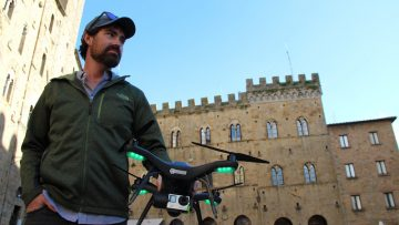 Reality capture, droni e laser: Volterra rivive in un modello BIM