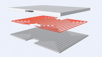 Impianti radianti preassemblati per ridurre i costi in cantiere: le soluzioni Rossato