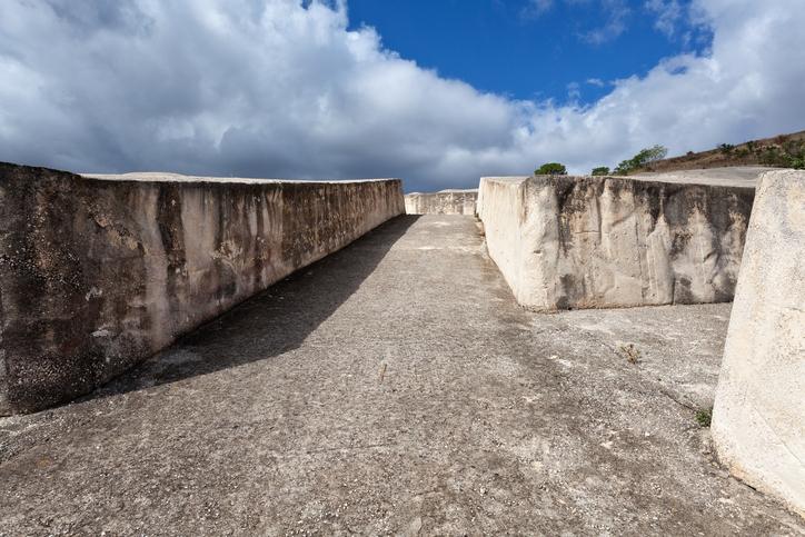Il Grande Cretto di Alberto Burri, nelle rovine di Gibellina Vecchia