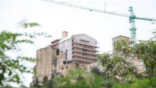 Restauro della Concattedrale di Irsina: ponteggi e coperture temporanee