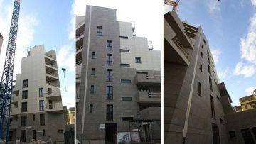Facciate ventilate ed efficienza energetica: il comfort abitativo di un nuovo edificio residenziale