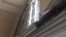 Terremoto 26 ottobre 2016: immagini dei danni al Monastero di S. Chiara a Camerino
