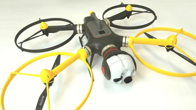 Il drone sviluppato all'interno del progetto Saga sarà dotato di algoritmi per la visione artificiale e per il coordinamento con altri droni