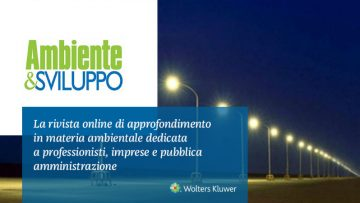 Illuminazione pubblica: l'ANAC caldeggia i CAM negli affidamenti