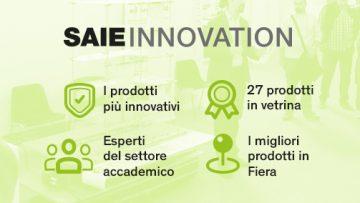 Saie Innovation: i 27 prodotti più innovativi dell'evento di Bologna
