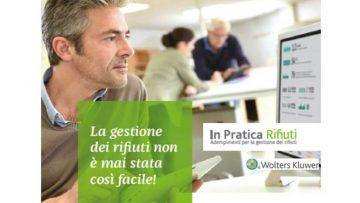 """""""In Pratica Rifiuti"""": presentata ad Ecomondo la nuova soluzione on line di Wolters Kluwer"""