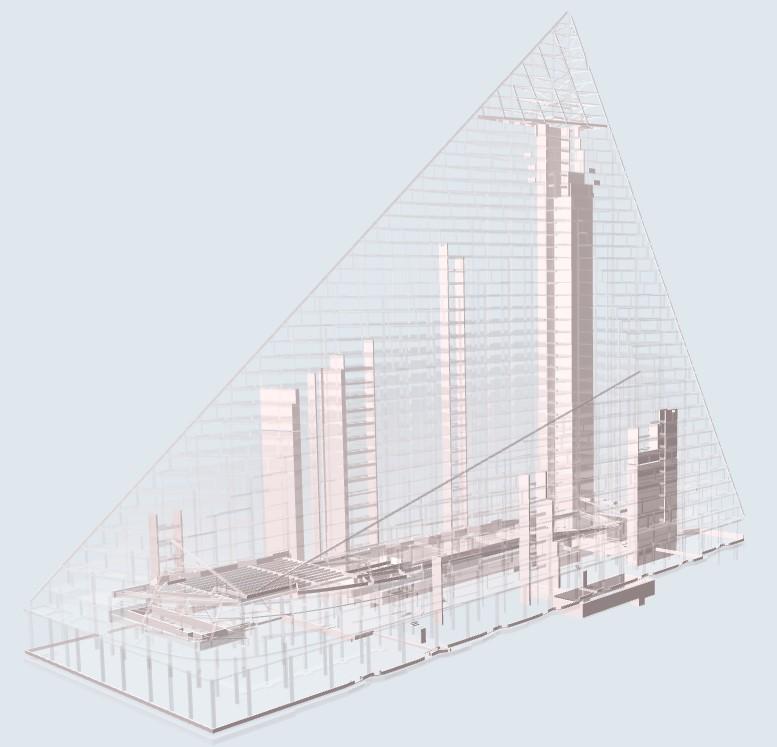 VIA W57 - modello strutture CA (3) © Thornton Tomasetti